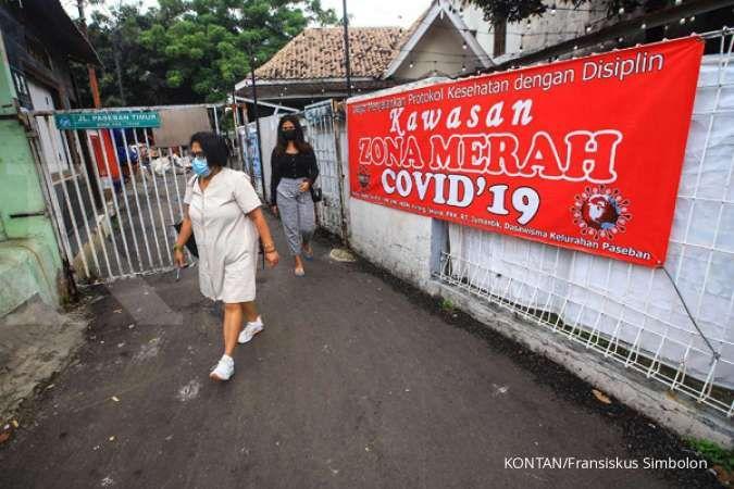 Zona merah corona 4 April 2021 naik, Pulau Jawa muncul 1 wilayah