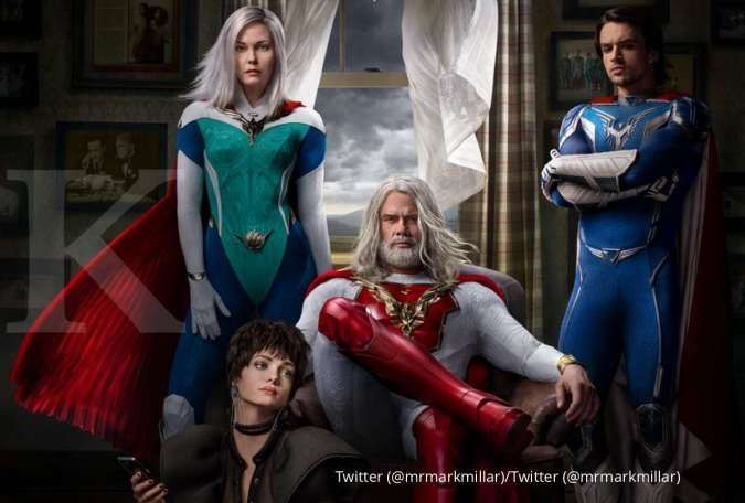 Trailer perdana serial superhero Jupiter's Legacy, segera tayang 7 Mei di Netflix