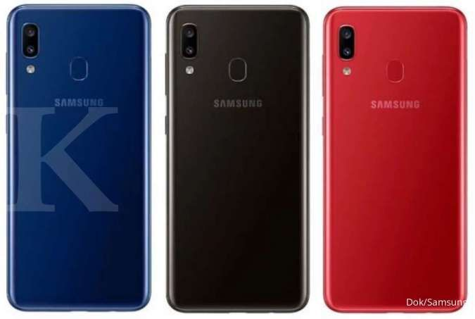 Spesifikasi dan harga HP Samsung A20