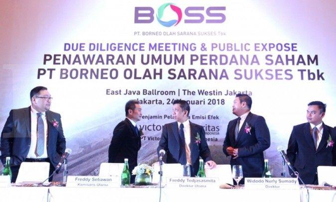 Harga IPO Borneo Olah Sarana berkisar Rp 350-Rp 600