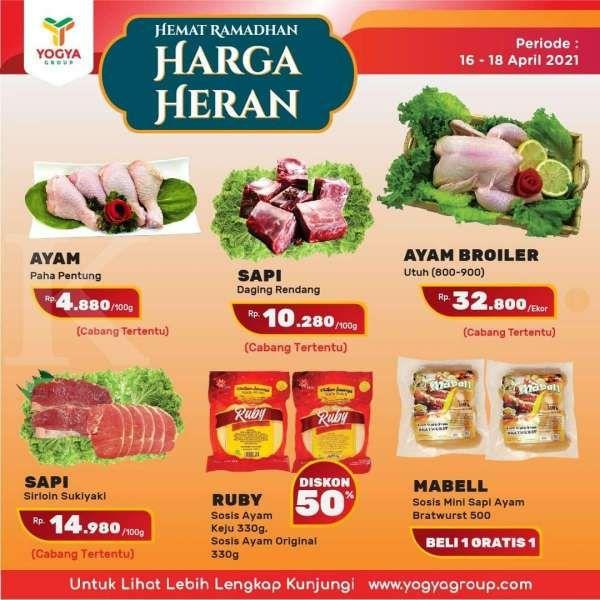Baru rilis! Promo JSM Yogya Supermarket Harga Hemat, berlaku 16-18 April 2021