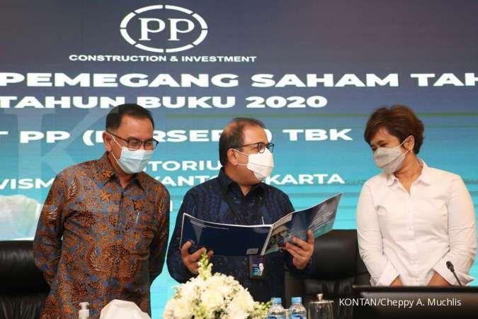 PTPP genggam kontrak baru Rp 6,7 triliun hingga Mei 2021