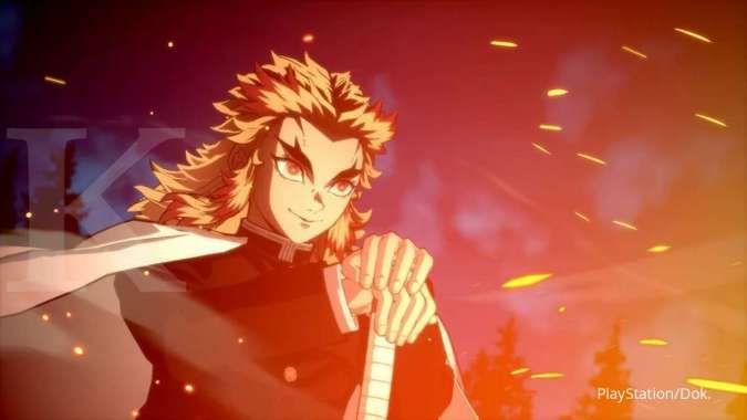 Kyojuro Rengoku jadi karakter yang bisa dimainkan lewat game terbaru Demon Slayer