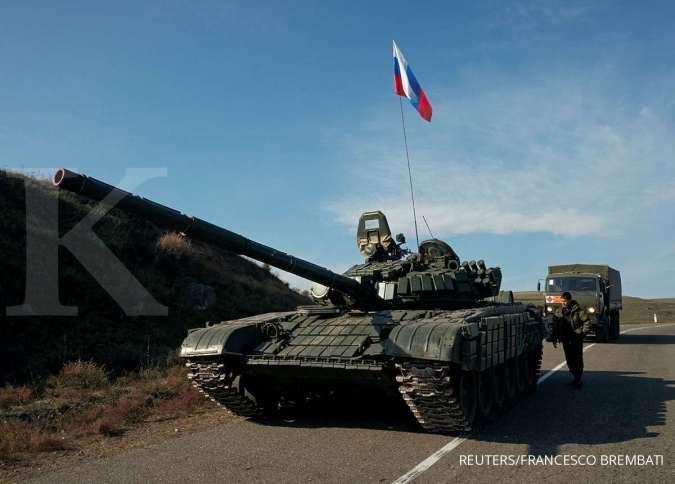 Dengan sangat hati-hati, AS awasi penarikan pasukan Rusia dari perbatasan Ukraina