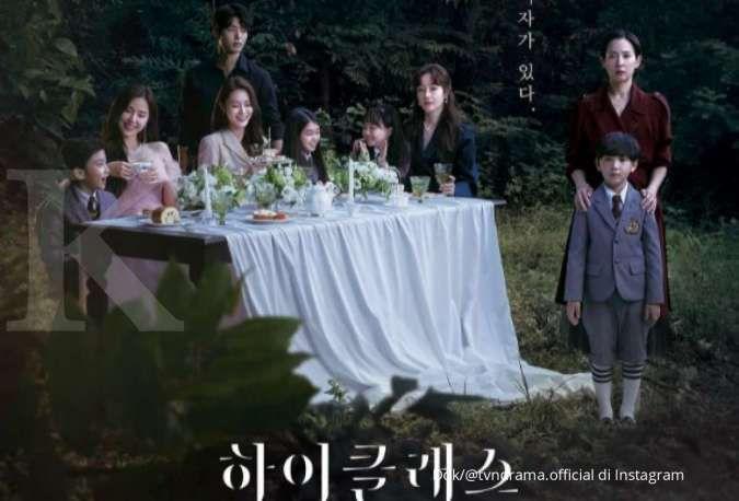 Drama Korea terbaru High Class di tvN.