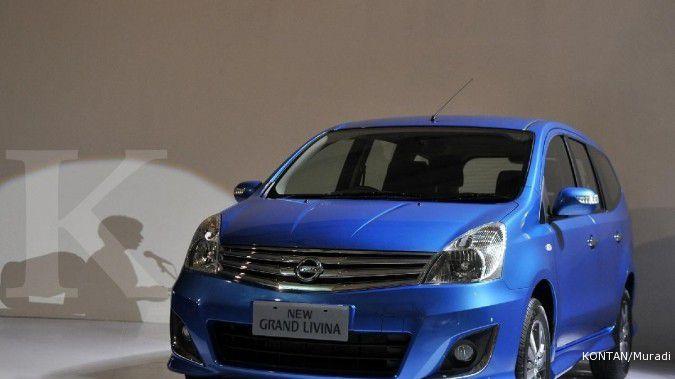Di Jakarta, lelang 5 mobil dinas Nissan Grand Livina harga pembukaan Rp 45 jutaan