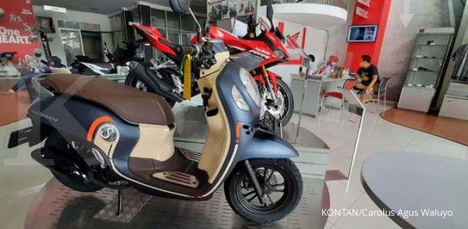 Cek harga motor bekas Honda Scoopy tahun muda murah banget per September 2021