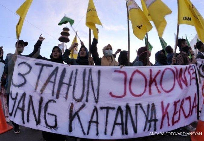 Survei Populi Center: Jokowi semakin tegas