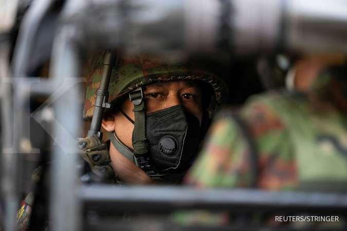 Video viral, instruktur fitnes berolahraga dengan latar kudeta militer Myanmar