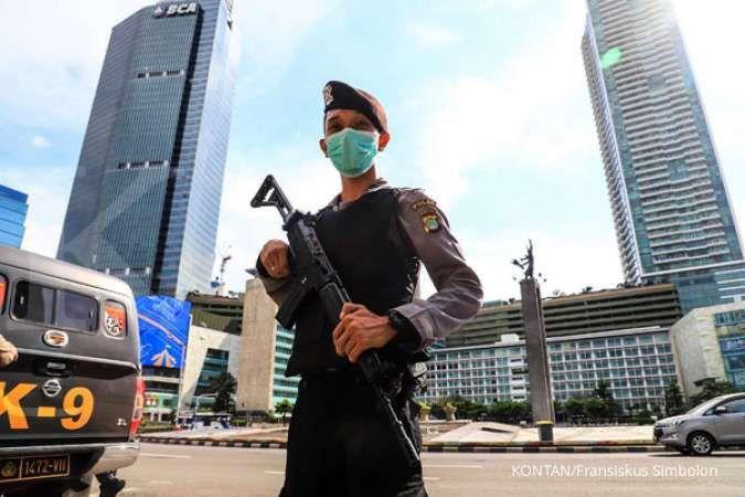 Ini yang polisi lakukan saat pelaksanaan PSBB di Jakarta