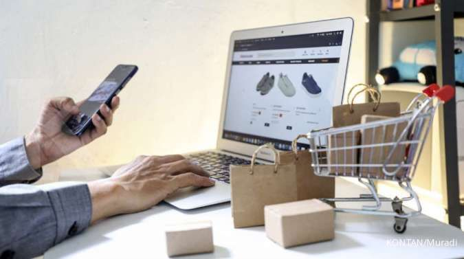 Pandemi membuat pangsa penjualan ritel online dunia naik menjadi 19% pada tahun lalu
