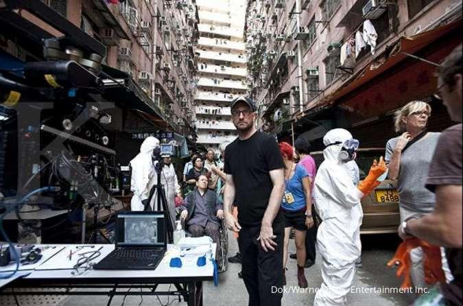 Steven Soderbergh, sutradara film Contagion yang tayang tahun 2011.