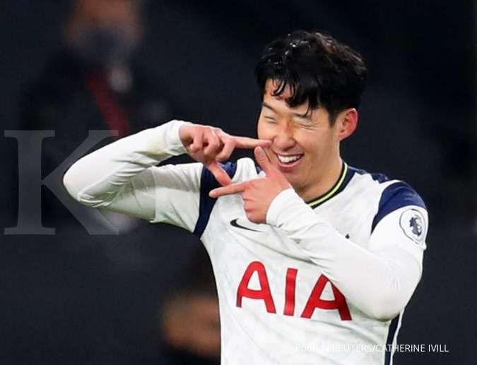 Raih poin terbanyak, Son Heung-min dinobatkan jadi Pesepakbola Terbaik Asia 2020