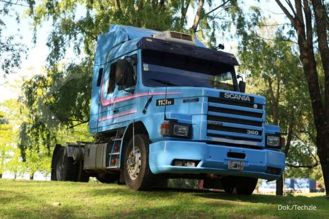 Scania 113H milik Maradona