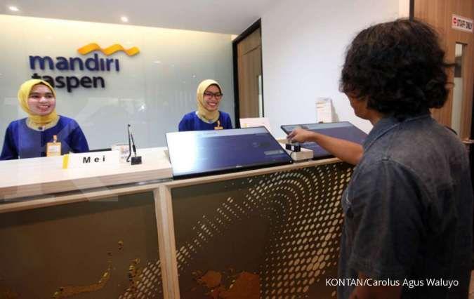 Bank Mandiri (BMRI) menyetor modal Rp 255,38 miliar ke Bank Mantap
