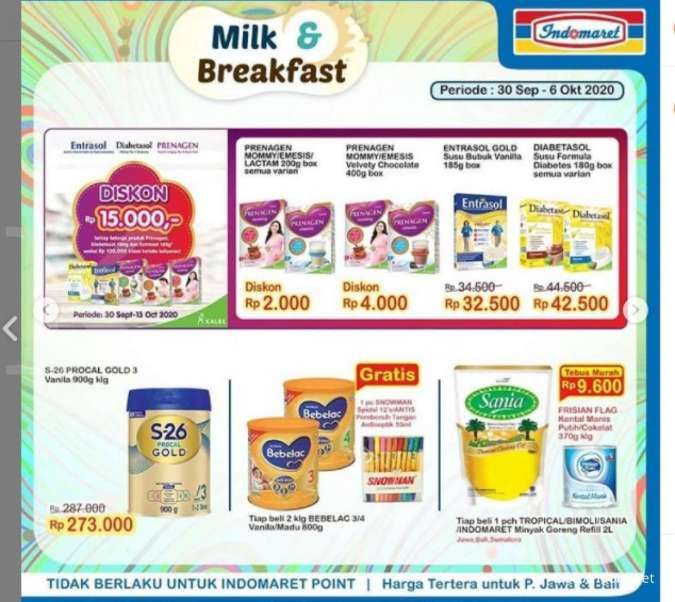 Promo Indomaret Super Hemat 30 September-6 Oktober 2020