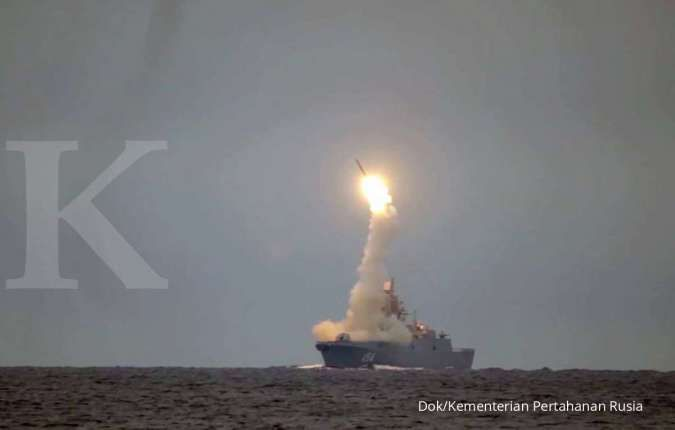 Rudal hipersonik Tsirkon milik Rusia bikin Pentagon khawatir