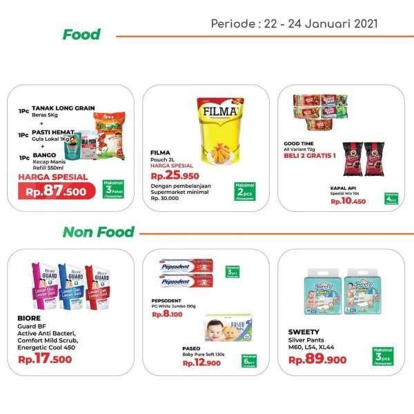 Hari terakhir, promo JSM Yogya Supermarket 24 Januari 2021!