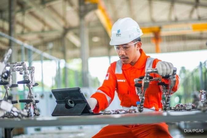 Simak realisasi kinerja operasional Perusahaan Gas Negara (PGAS) per Maret 2021