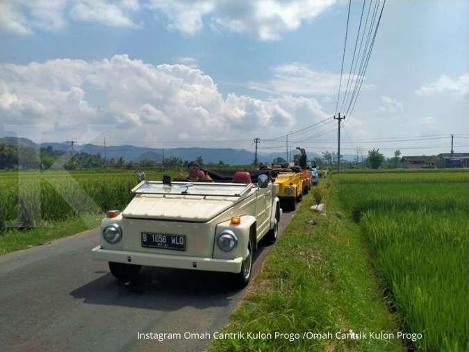 Omah Cantrik Kulon Progo tawarkan keseruan berkeliling naik VW Safari