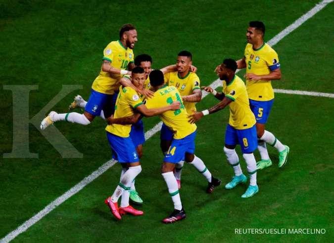 Final Copa America 2021 Argentina vs Brasil: Uji kekuatan Albiceleste jumpa Selecao