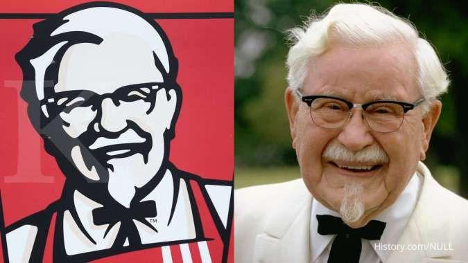 Jatuh bangun Kolonel Sanders, pendiri KFC yang menemukan sukses di usia senja