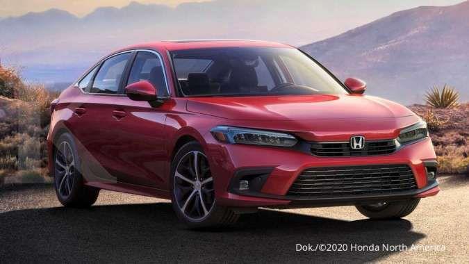 Rincian harga mobil Honda Civic 2022 terkuak, siap debut bulan depan