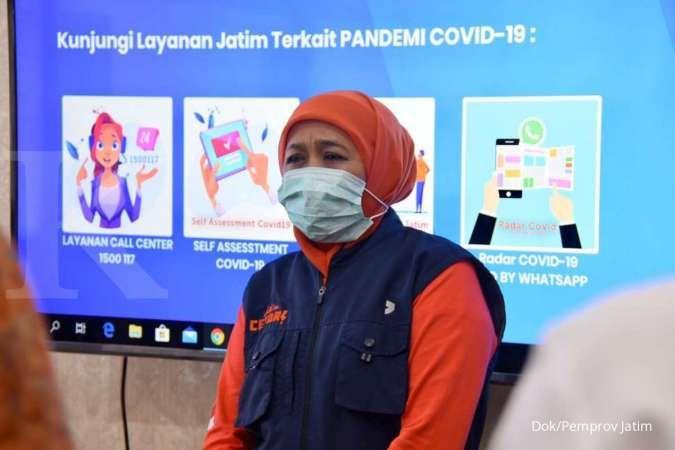 Pertama kali, Gubernur Khofifah ajukan penetapan PSBB Surabaya Raya