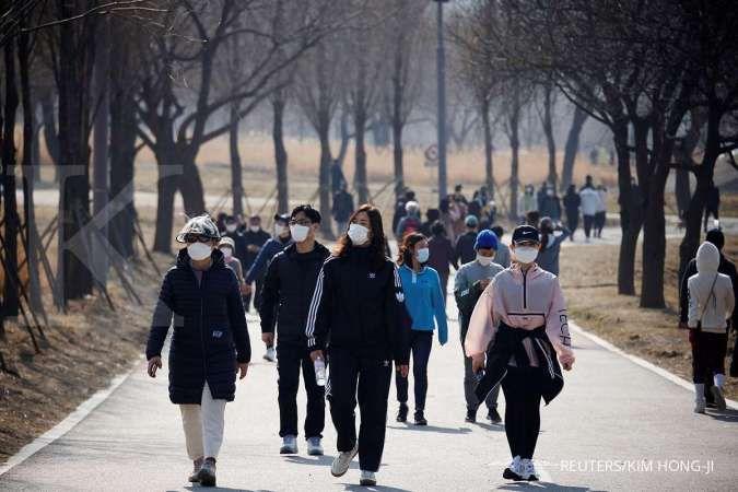 Laporkan 1.842 infeksi, Korea Selatan catat rekor harian baru kasus COVID-19