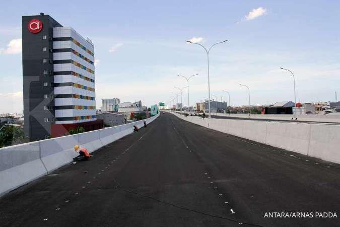 Jalan Tol Layang A.P Pettarani Makassar beroperasi Oktober, ini perkiraan tarifnya