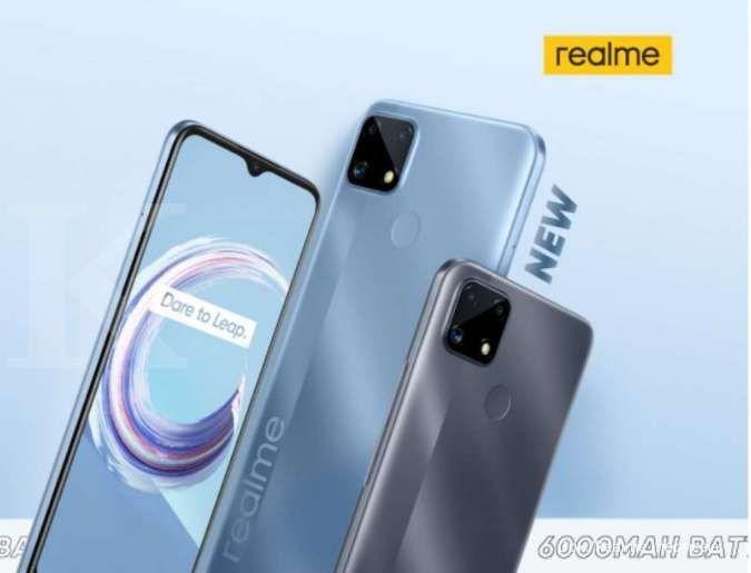 Realme C25s: HP Baterai Besar dan Cocok untuk Main Game