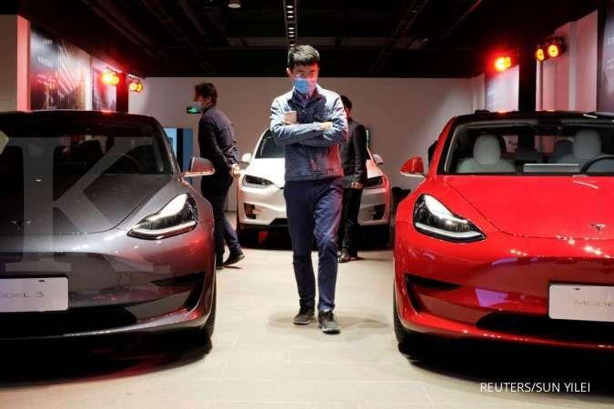 Permintaan Turun Tesla Pangkas Harga Mobil Listrik