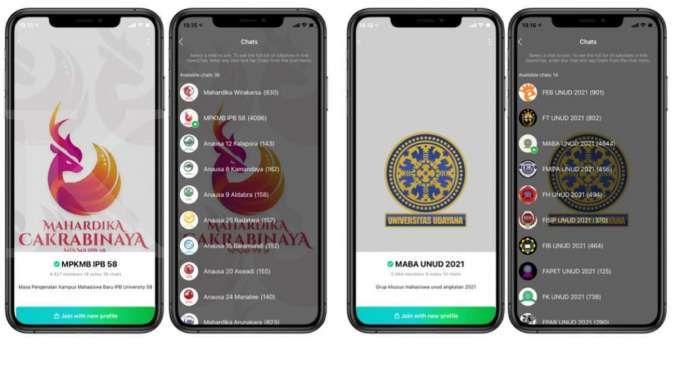 Fitur OpenChat di Line mempermudah ospek online di universitas