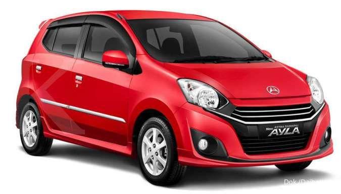 Harga mobil bekas Daihatsu Ayla kini terendah Rp 80 juta, dapat tahun muda