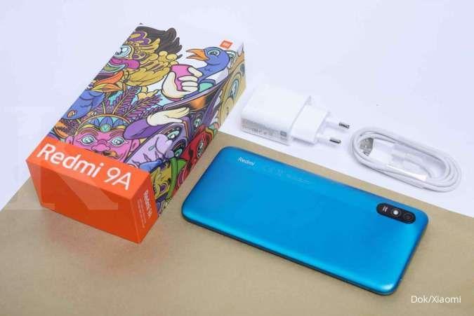 Harga HP Xiaomi Redmi 9A kini semakin murah, mulai dari Rp 1,1 jutaan