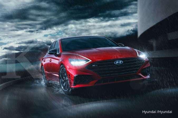 Sporty dan gagah, begini tampilan Hyundai Sonata N-Line 2021 terbaru