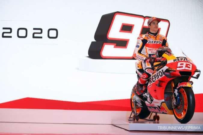 Jelang MotoGP 2021, Marc Marquez kembali ke latihan sirkuit
