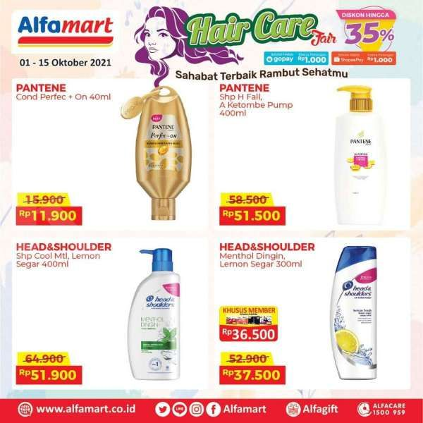 Promo Alfamart Hair Care Fair