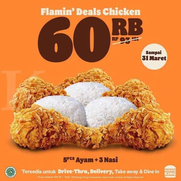 Promo Burger King 1-31 Maret 2021