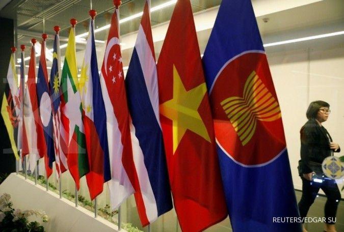 Menteri luar negeri ASEAN bertemu, persaingan kekuasaan AS-China juga jadi topik