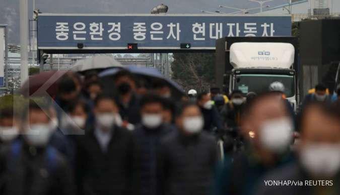 Karyawan positif virus corona, Hyundai tutup pabrik