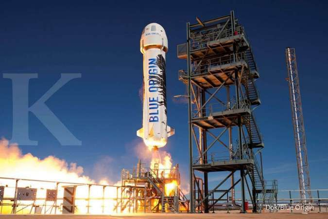 Wow roket Jeff Bezos telah sukses uji coba teknolo