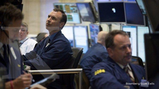 Bursa AS memerah menanti keputusan The Fed