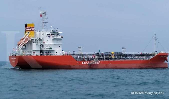 Kapal chemical tanker PT Samudera Indonesia Tbk (SMDR)