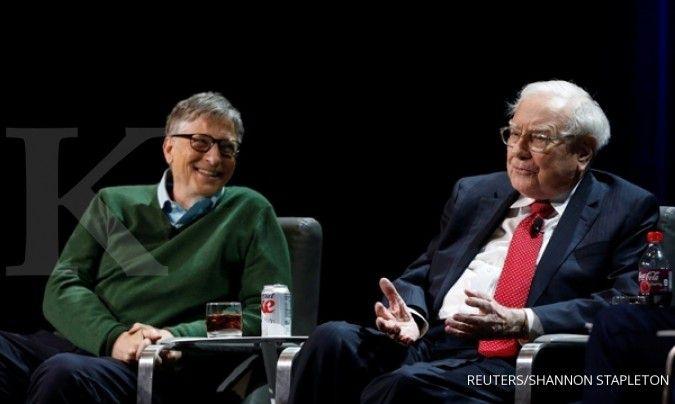 Warren Buffett mundur dari Gates Foundation, sumbangkan setengah dari kekayaannya
