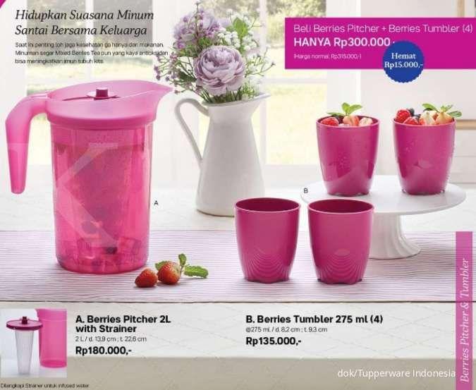 Katalog promo Tupperware Agustus 2020 peralatan minum