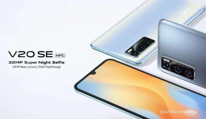 Harga Vivo V20 SE di pasaran saat ini dibanderol hanya Rp 3.999.000 saja.