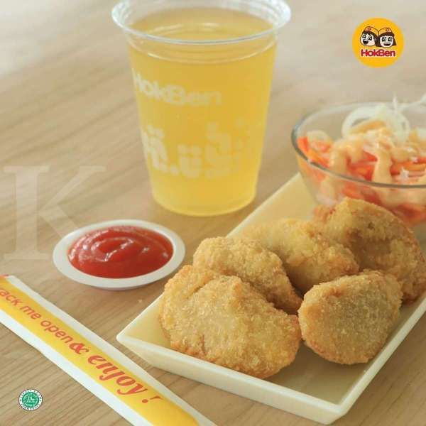 Harga Rp 20.000 per porsi di promo HokBen hari ini 27 Januari 2021!