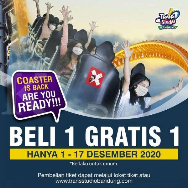 Promo Trans Studio Bandung 1-17 Desember 2020