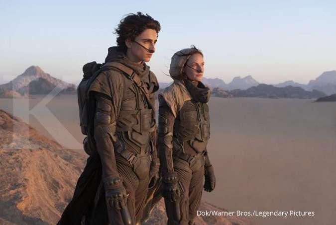 Film Dune mulai tayang di bioskop Indonesia.